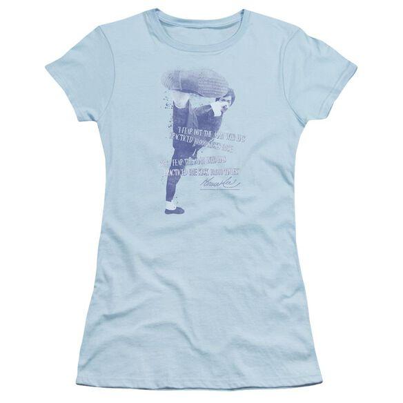 Bruce Lee 10,000 Kicks Short Sleeve Junior Sheer Light T-Shirt