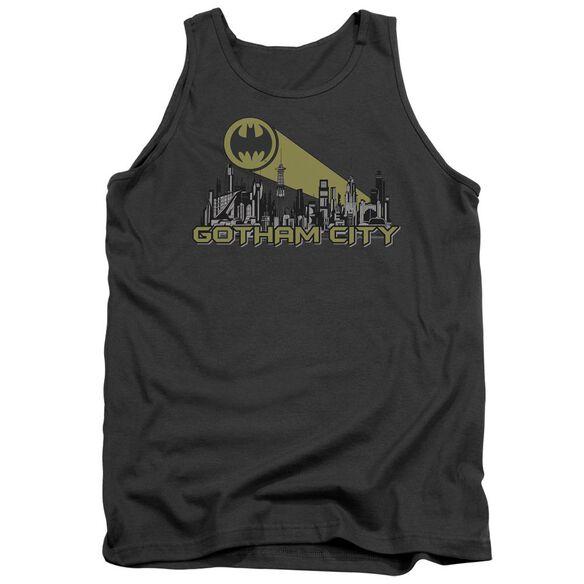 Batman Gotham Skyline Adult Tank