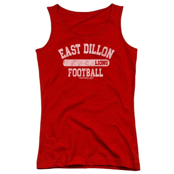 Friday Night Lights Lions Pill Box Juniors Tank Top