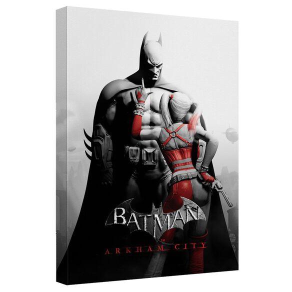 Batman Arkham City Ac Stand Off Quickpro Artwrap Back Board