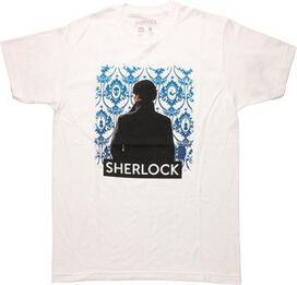 Sherlock Thinking Back View T-Shirt