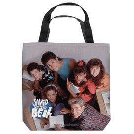 Saved By The Bell Group Shot Tote