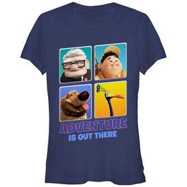 Up Adventure Out There Juniors T-Shirt