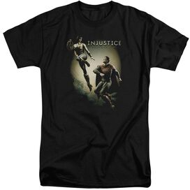 Injustice Gods Among Us Battle Of The Gods Short Sleeve Adult Tall T-Shirt