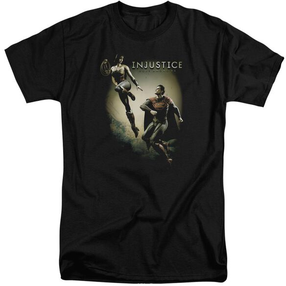 Injustice Gods Among Us Battle Of The Gods Short Sleeve Adult Tall T-Shirt