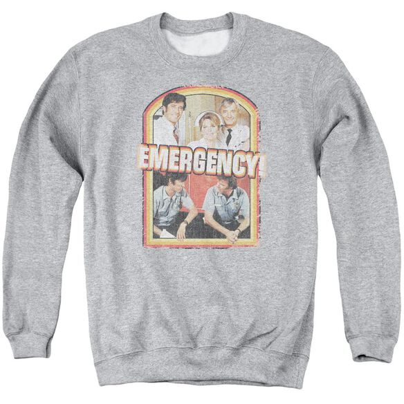 Emergency Retro Cast Adult Crew Sweat Athletic