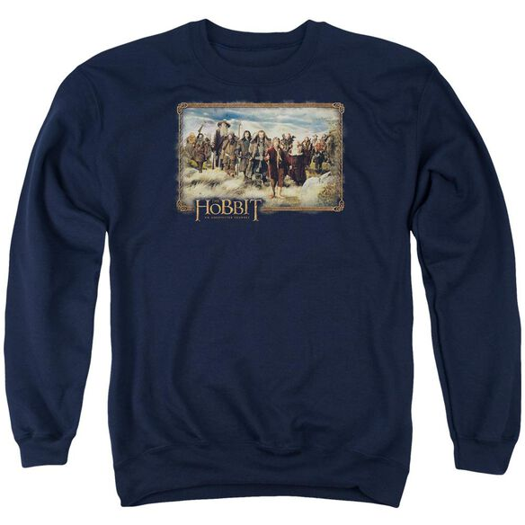 The Hobbit Hobbit & Company Adult Crewneck Sweatshirt