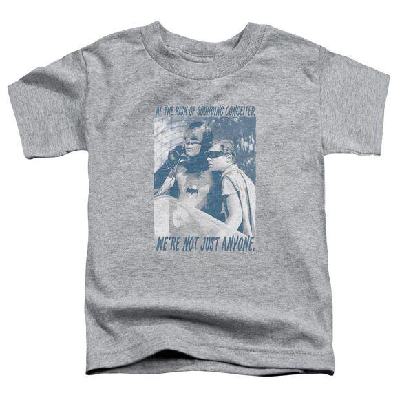 Batman Classic Tv Boogie Nights Short Sleeve Toddler Tee Athletic Heather T-Shirt