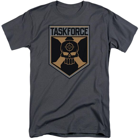Suicide Squad Taskforce Shield Short Sleeve Adult Tall T-Shirt