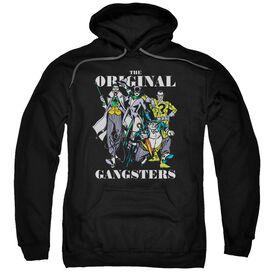 Dc Original Gangsters Adult Pull Over Hoodie Black