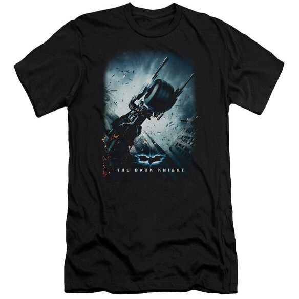 Dark Knight Bat Pod Poster Short Sleeve Adult T-Shirt