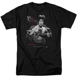 BRUCE LEE THE DRAGON - S/S ADULT 18/1 - BLACK T-Shirt
