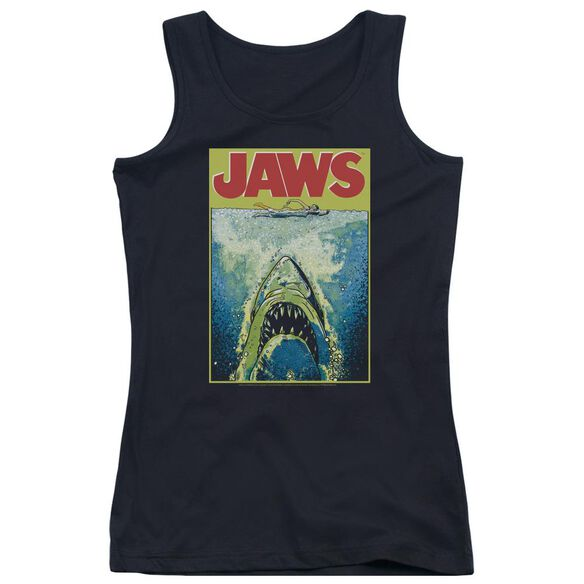 Jaws Bright Jaws Juniors Tank Top