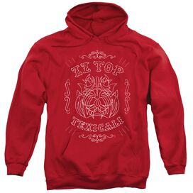 Zz Top Texicali Demon Adult Pull Over Hoodie