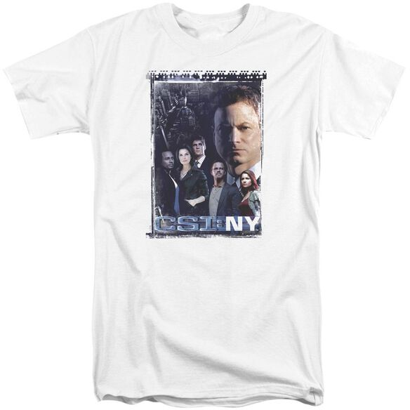 Csi Ny Watchful Eye Short Sleeve Adult Tall T-Shirt