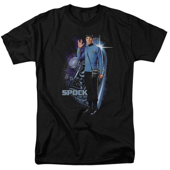Star Trek Galactic Spock Short Sleeve Adult T-Shirt