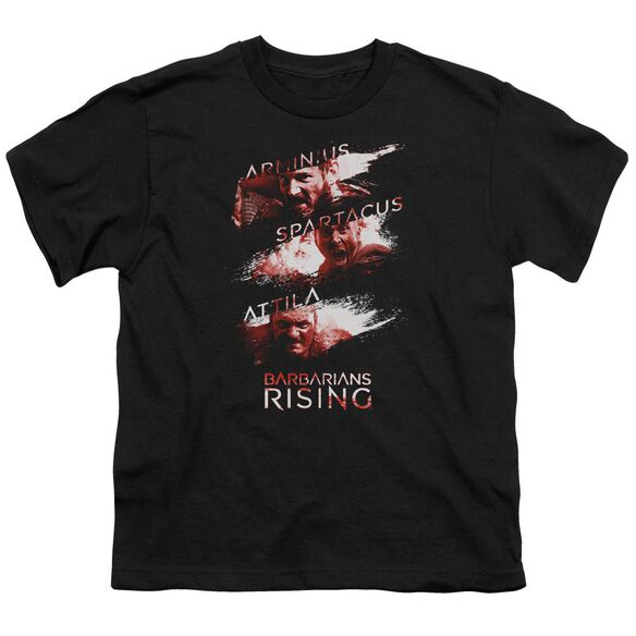 Barbarians Rising Barbarian Splash Short Sleeve Youth T-Shirt