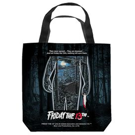 Friday The 13 Th Poster Tote