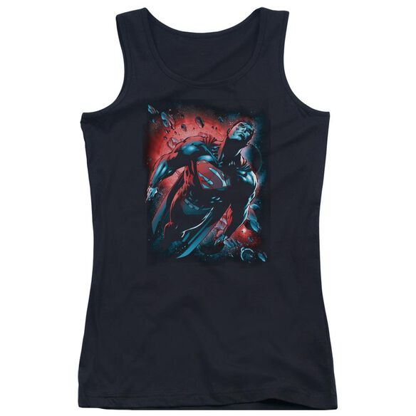 Superman Red Sun Juniors Tank Top