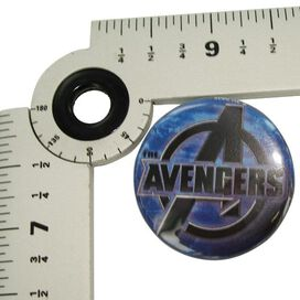 Avengers Movie Logo Button