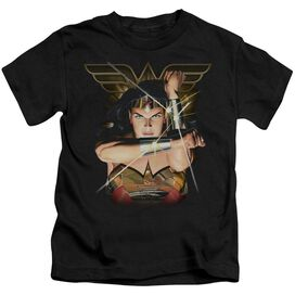 Justice League Deflection Short Sleeve Juvenile T-Shirt