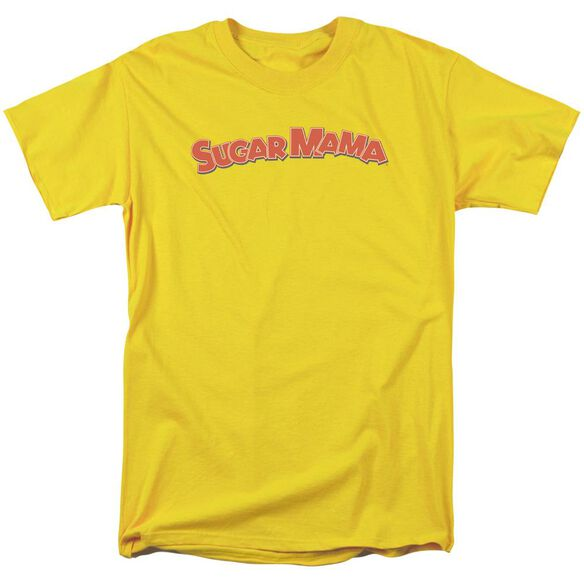 Tootsie Roll Sugar Mama Short Sleeve Adult Yellow T-Shirt