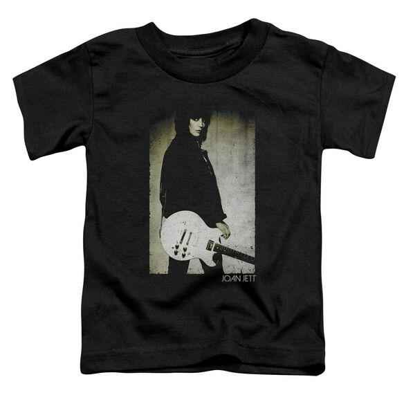 Joan Jett Turn Short Sleeve Toddler Tee Black T-Shirt