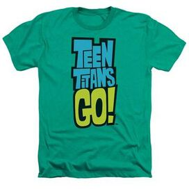 Teen Titans Go Logo Heather T-Shirt