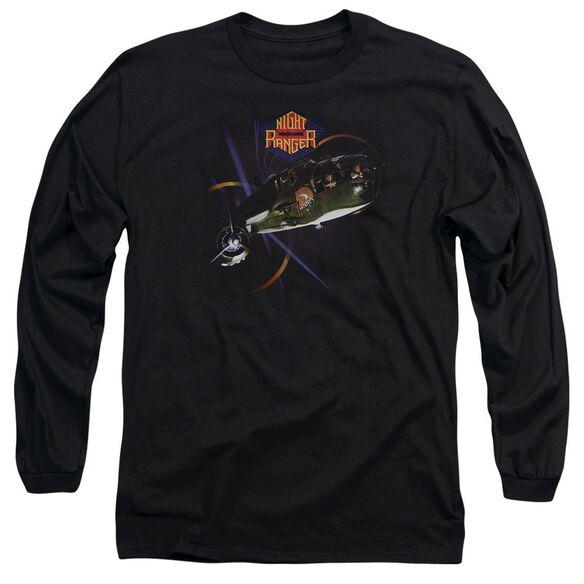 Night Ranger 7 Wishes Long Sleeve Adult T-Shirt