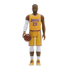 Super7 - NBA LeBron James (Los Angeles Lakers) ReAction Figure