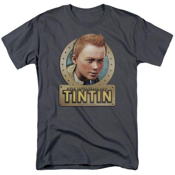 Tintin Metal Short Sleeve Adult T-Shirt