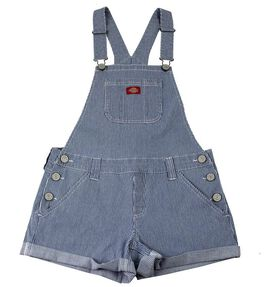 Dickies Women's Hickory Shortalls [S]