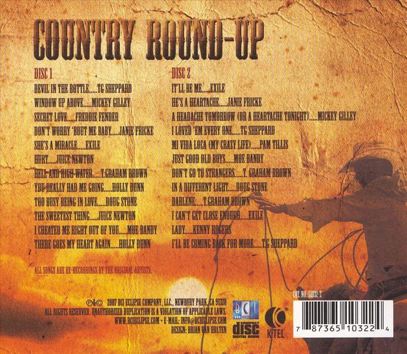 Country Round Up 2 Disc S