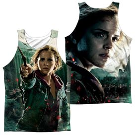 Harry Potter Hermione Final Battle (Front Back Print) Adult Poly Tank Top