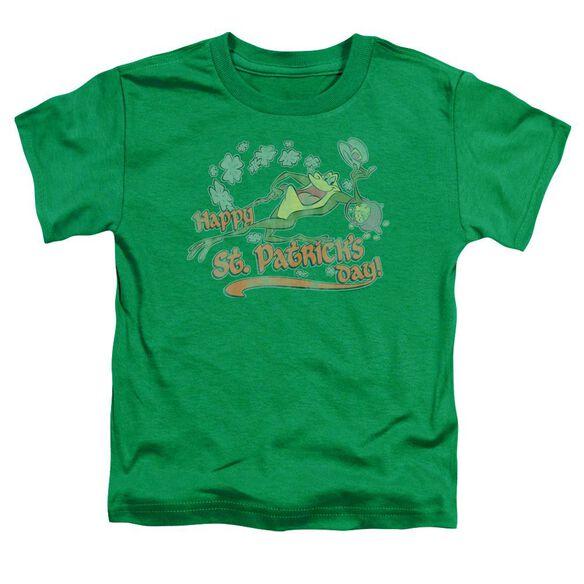 Looney Tunes Michigan J Short Sleeve Toddler Tee Kelly Green T-Shirt