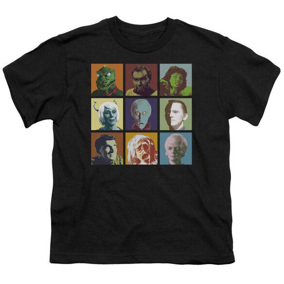 Star Trek Alien Squares Short Sleeve Youth T-Shirt