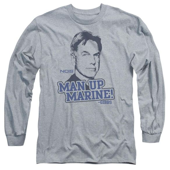 Ncis Man Up Long Sleeve Adult Athletic T-Shirt