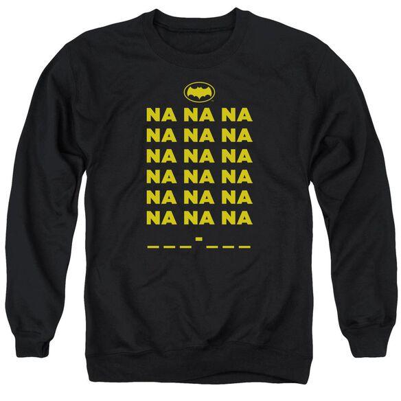 Batman Classic Tv Na Na Na Adult Crewneck Sweatshirt