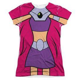 Teen Titans Go Starfire Suit Sub Juniors T-Shirt