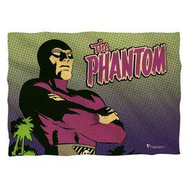 Phantom Island Pillow Case White