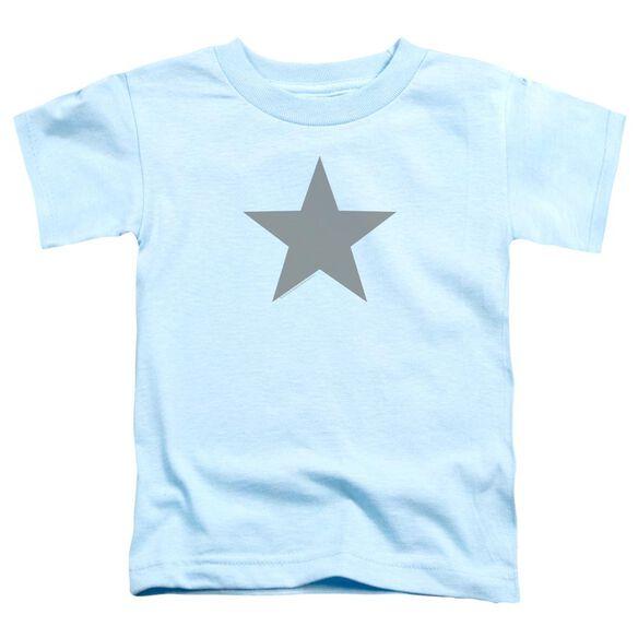 Valiant Archers Star Short Sleeve Toddler Tee Light Blue T-Shirt