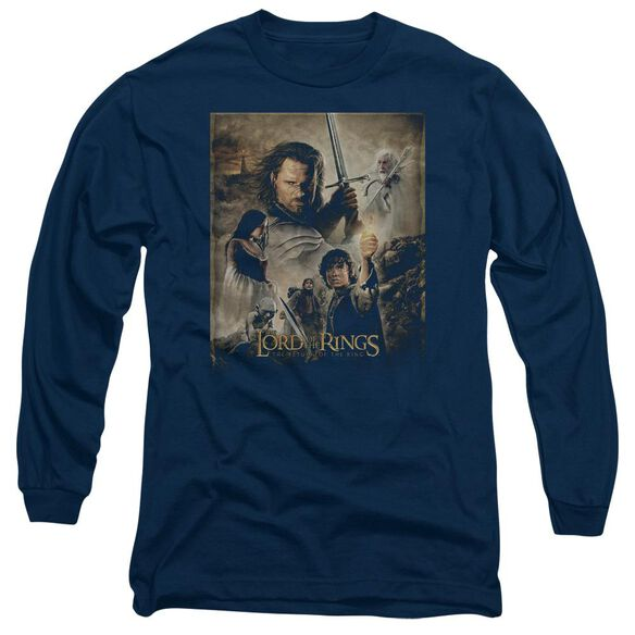 Lor Rotk Poster Long Sleeve Adult T-Shirt