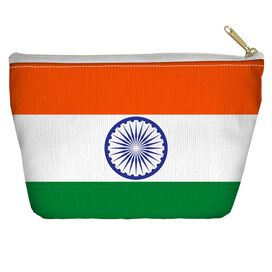 India Flag Accessory Pouch