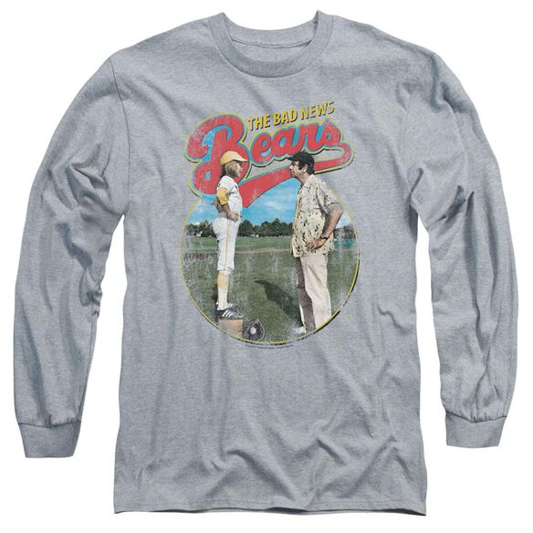 Bad News Bears Vintage Long Sleeve Adult Athletic T-Shirt