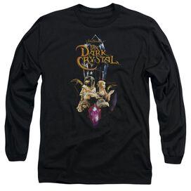 DARK CRYSTAL CRYSTAL QUEST - L/S ADULT 18/1 - BLACK T-Shirt