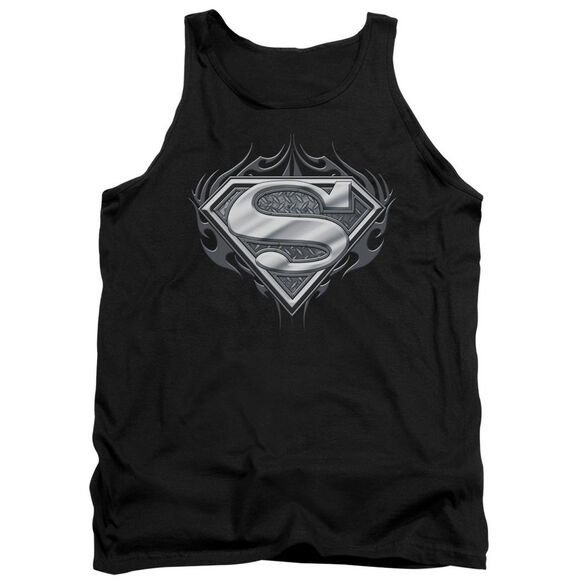 Superman Biker Metal Adult Tank