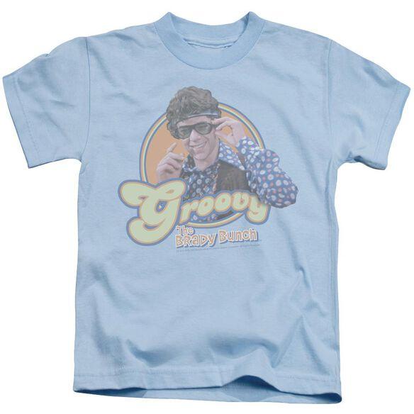 Brady Bunch Groovy Greg Short Sleeve Juvenile Light Blue T-Shirt
