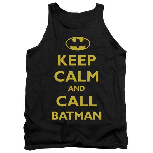 Batman Call Batman Adult Tank