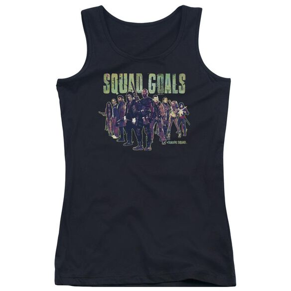 Suicide Squad Squad Goals Juniors Tank Top