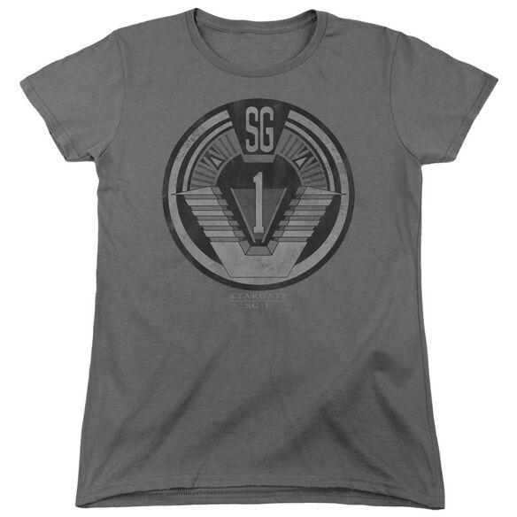 Sg1 Team Badge Short Sleeve Womens Tee T-Shirt